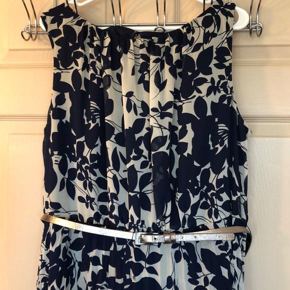 Jessica Howard Dresses Plus Size Pleated Belted Maxi Dress Poshmark